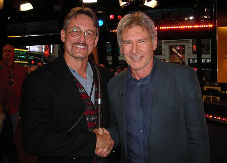 Anthony De Longis et Harrison Ford
